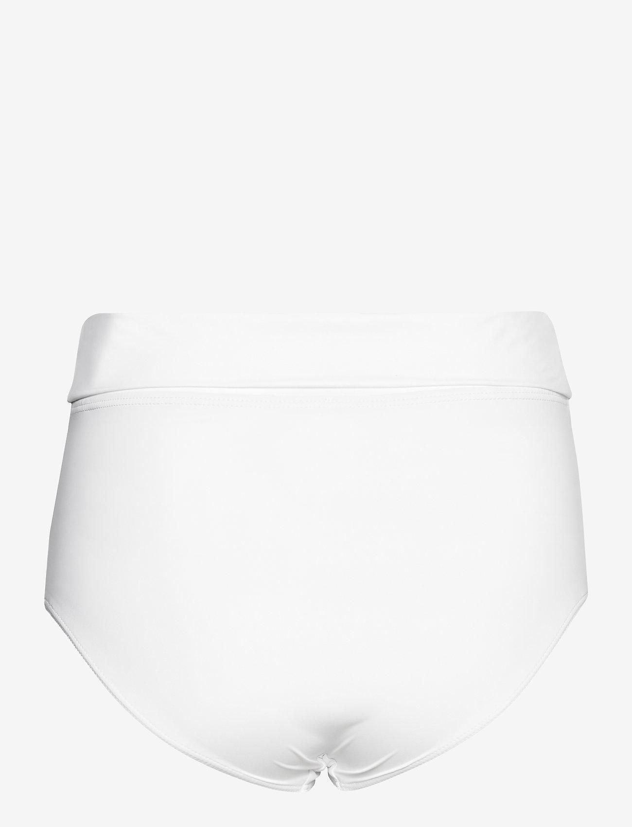 Max Mara Leisure - 2TAMIGI - high waist bikini bottoms  - optical white - 1
