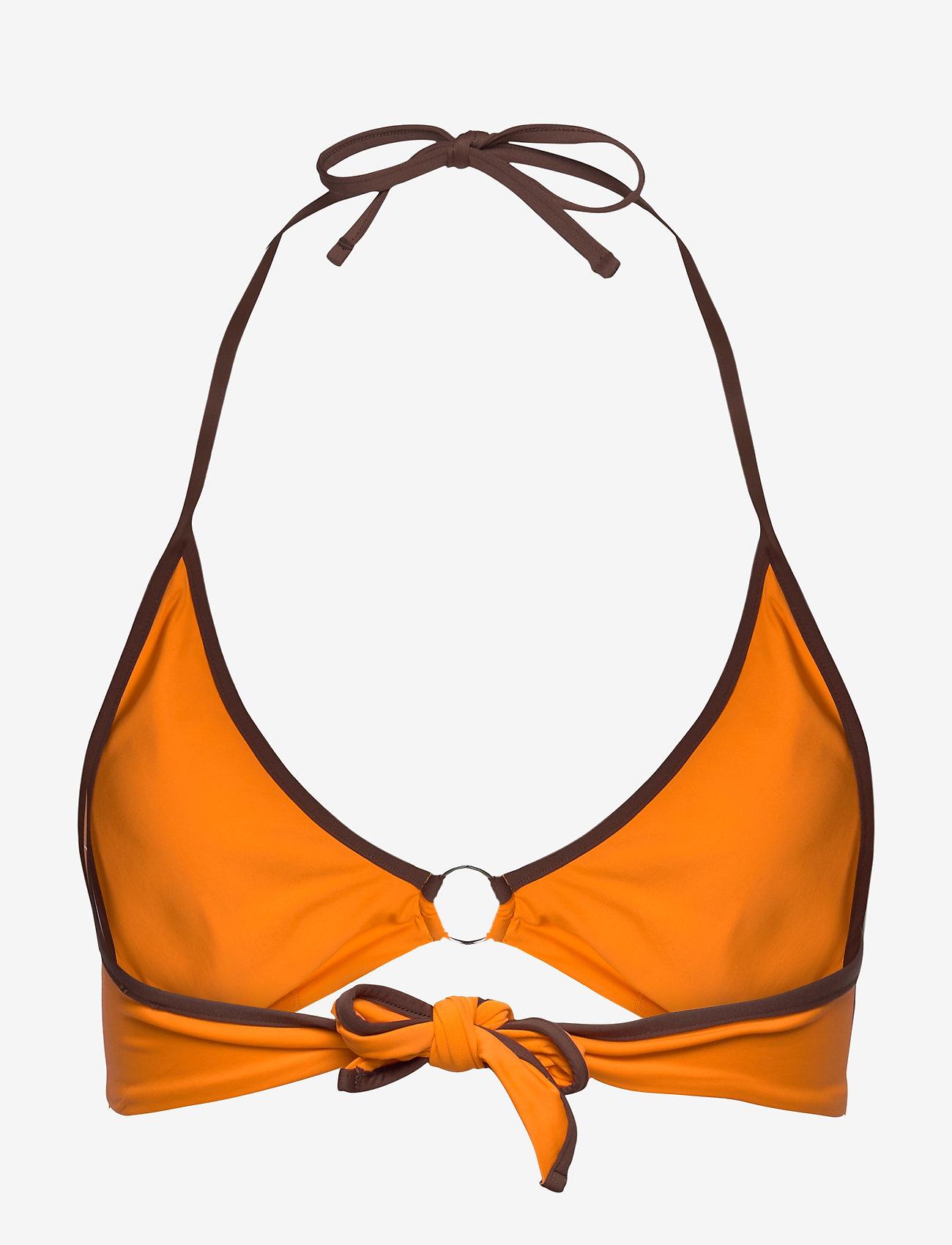 Max Mara Leisure - 1LIUTO - bikini tops - orange - 1