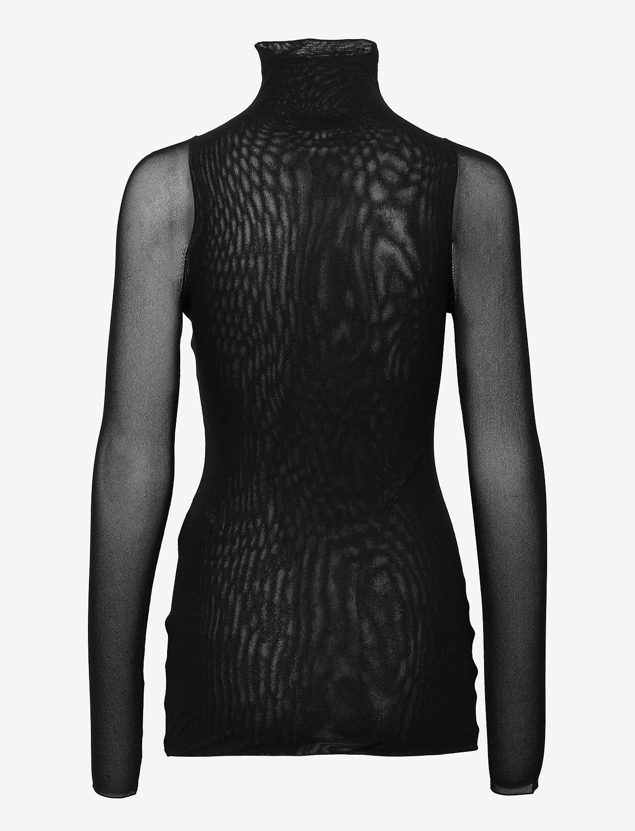 Max Mara Leisure - VELES - long-sleeved tops - black - 1
