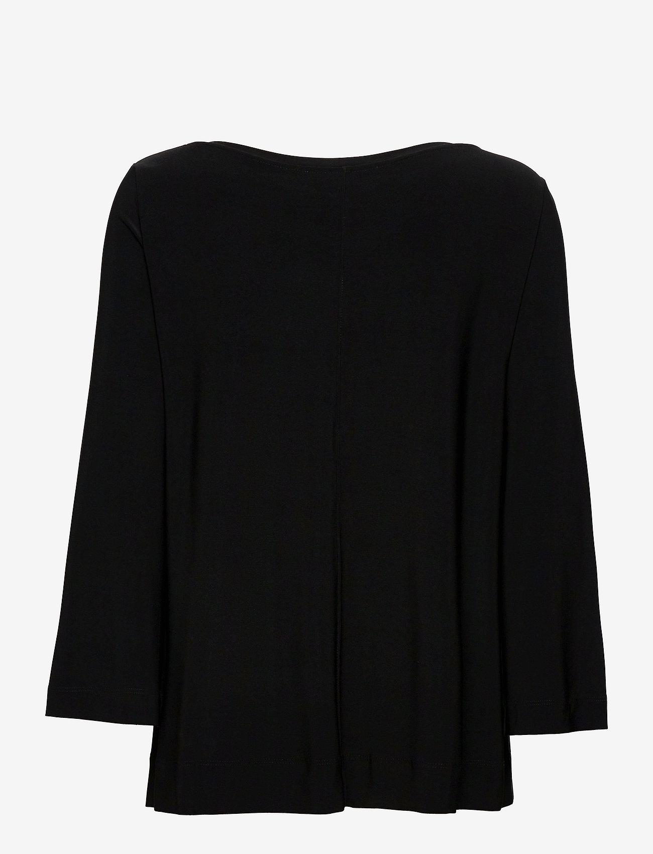 Max Mara Leisure - RIVOLO - long sleeved blouses - black - 1