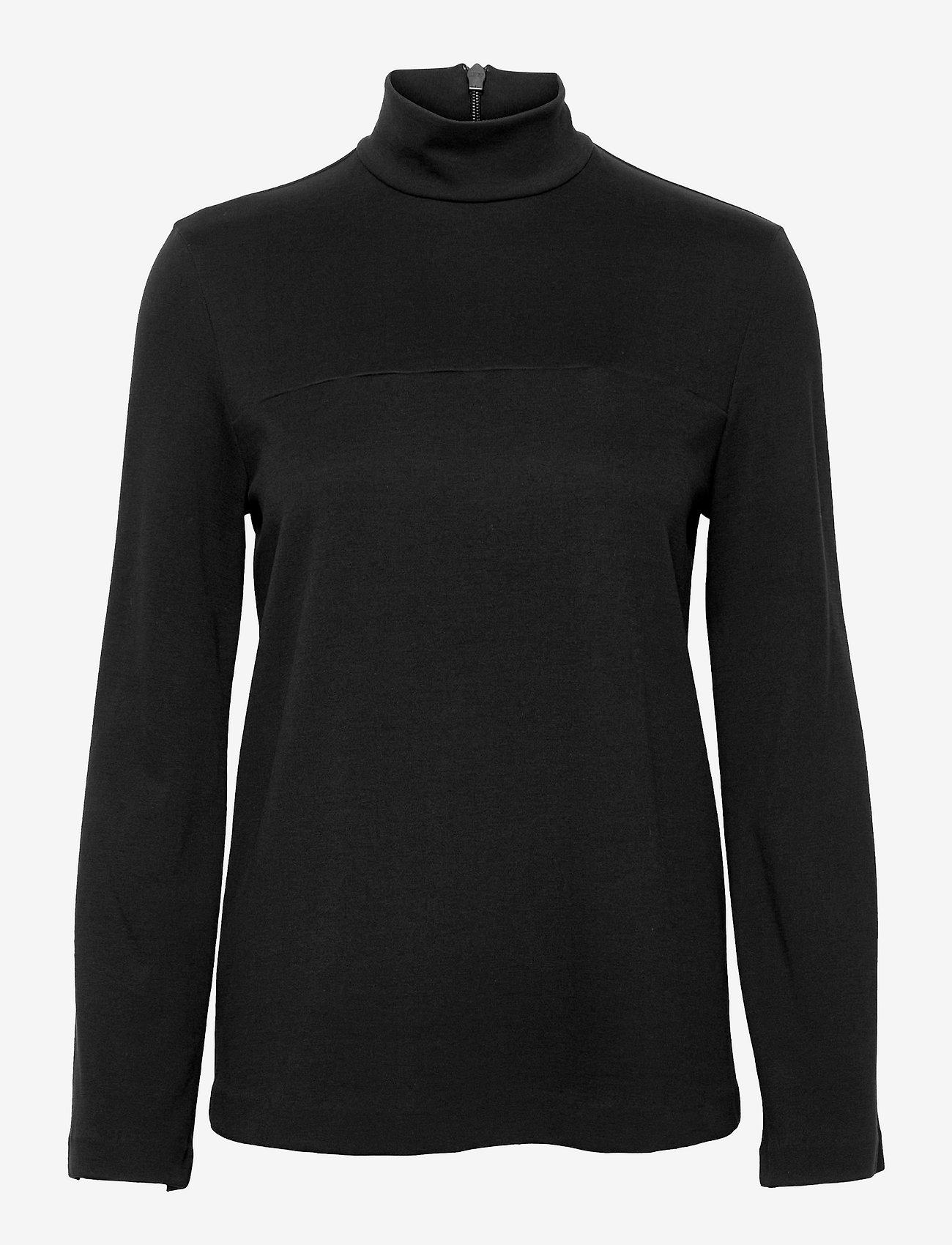 Max Mara Leisure - ETHEL - long-sleeved tops - black - 0
