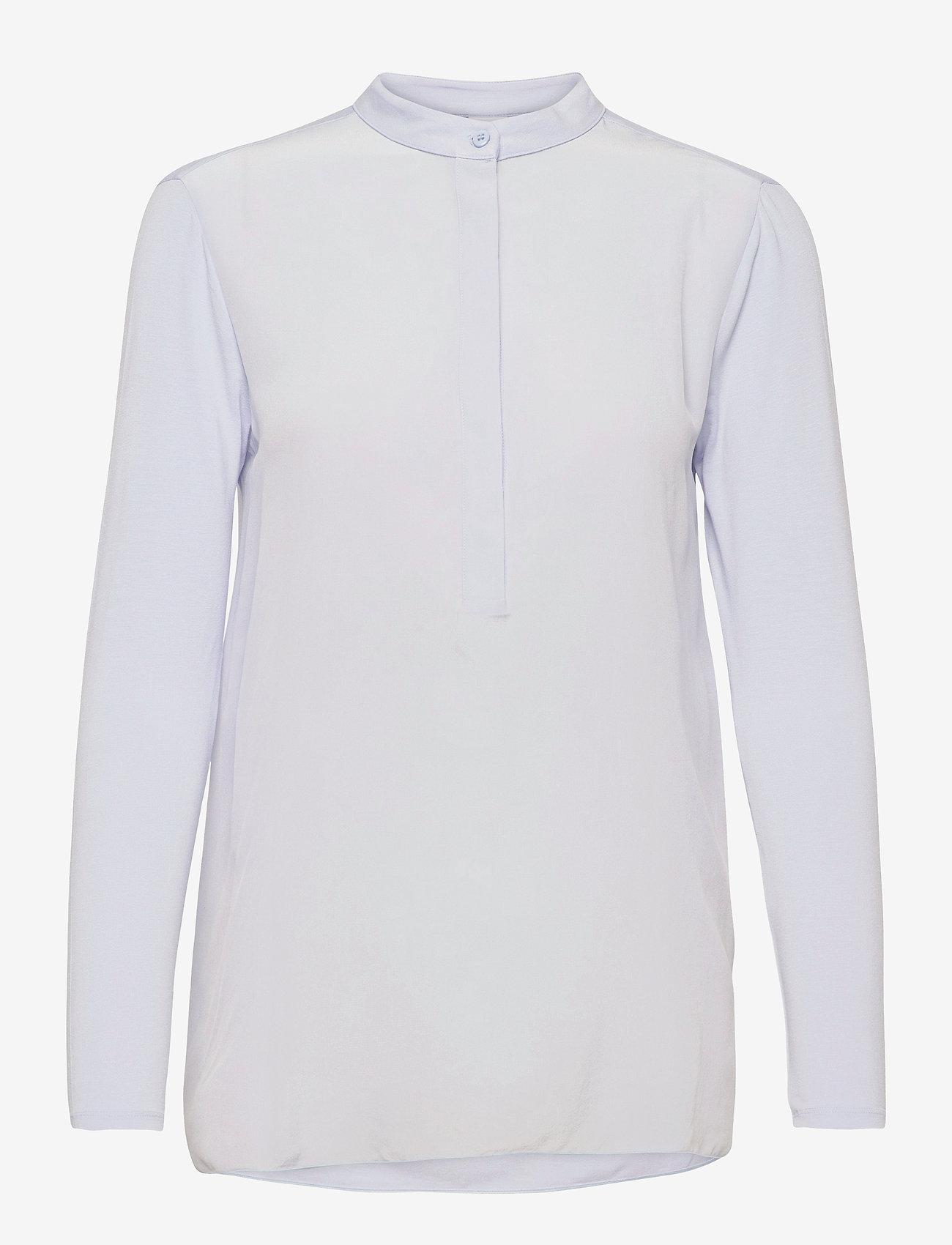 Max Mara Leisure - HAITI - long sleeved blouses - light blue - 0