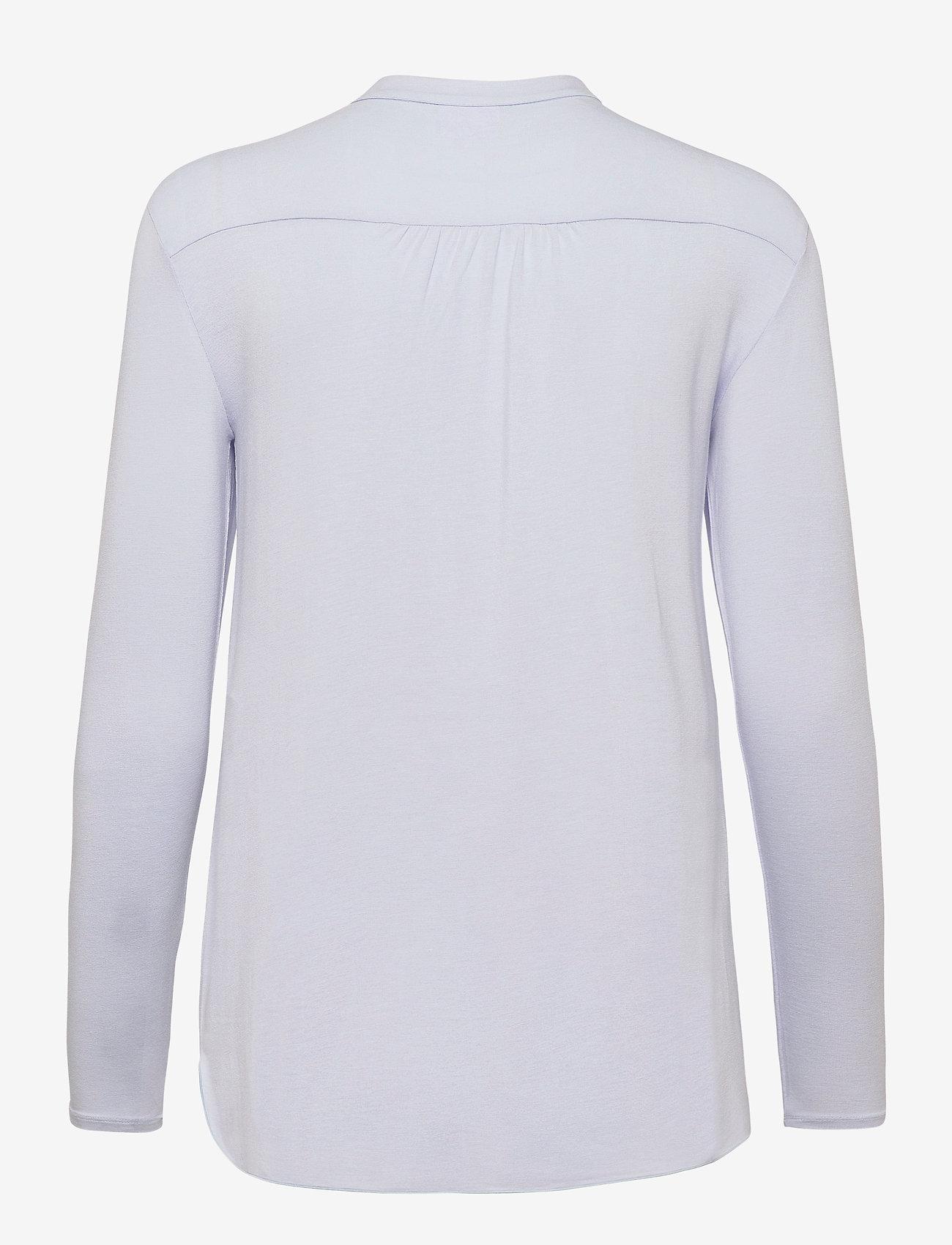 Max Mara Leisure - HAITI - long sleeved blouses - light blue - 1