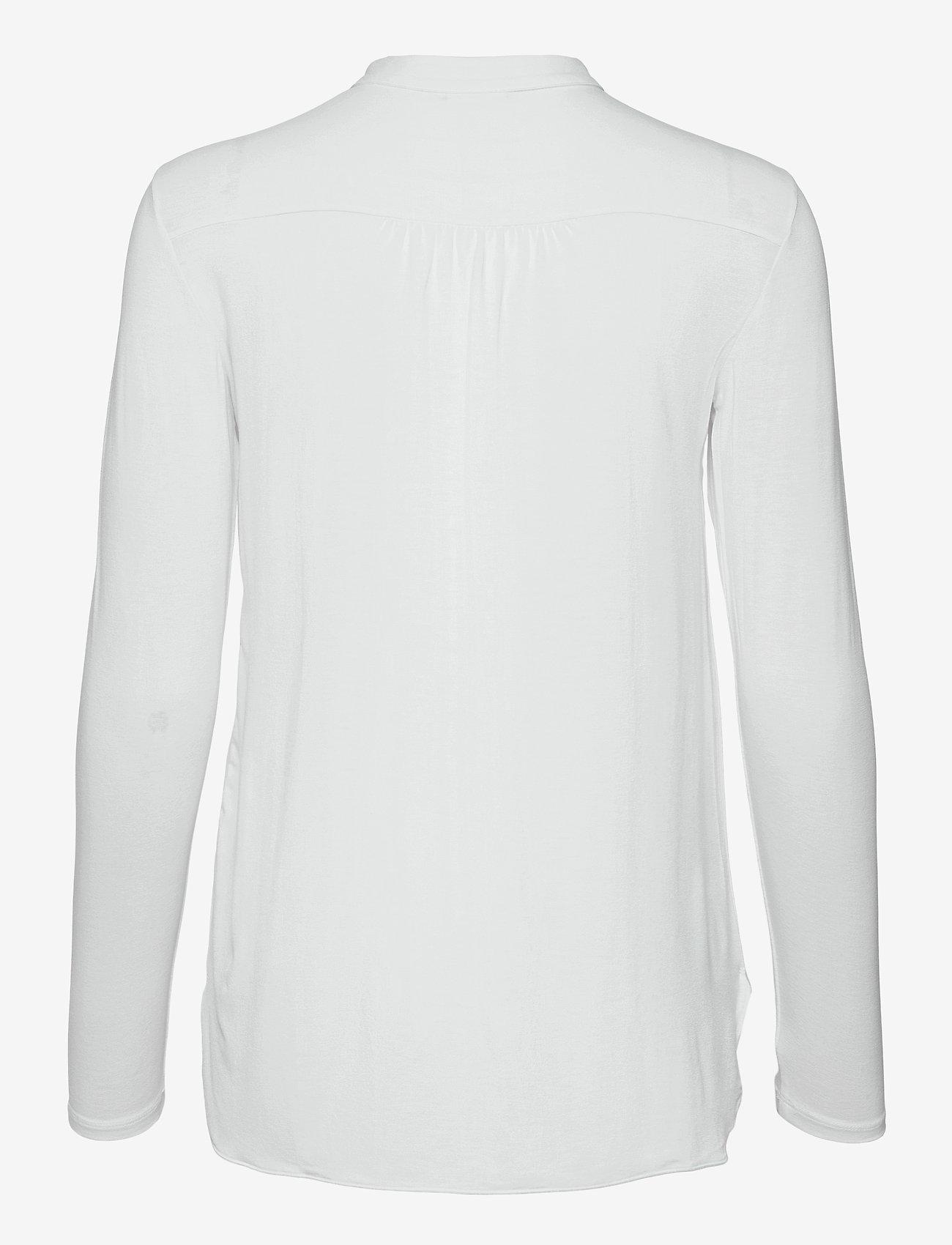 Max Mara Leisure - HAITI - long sleeved blouses - optical white - 1