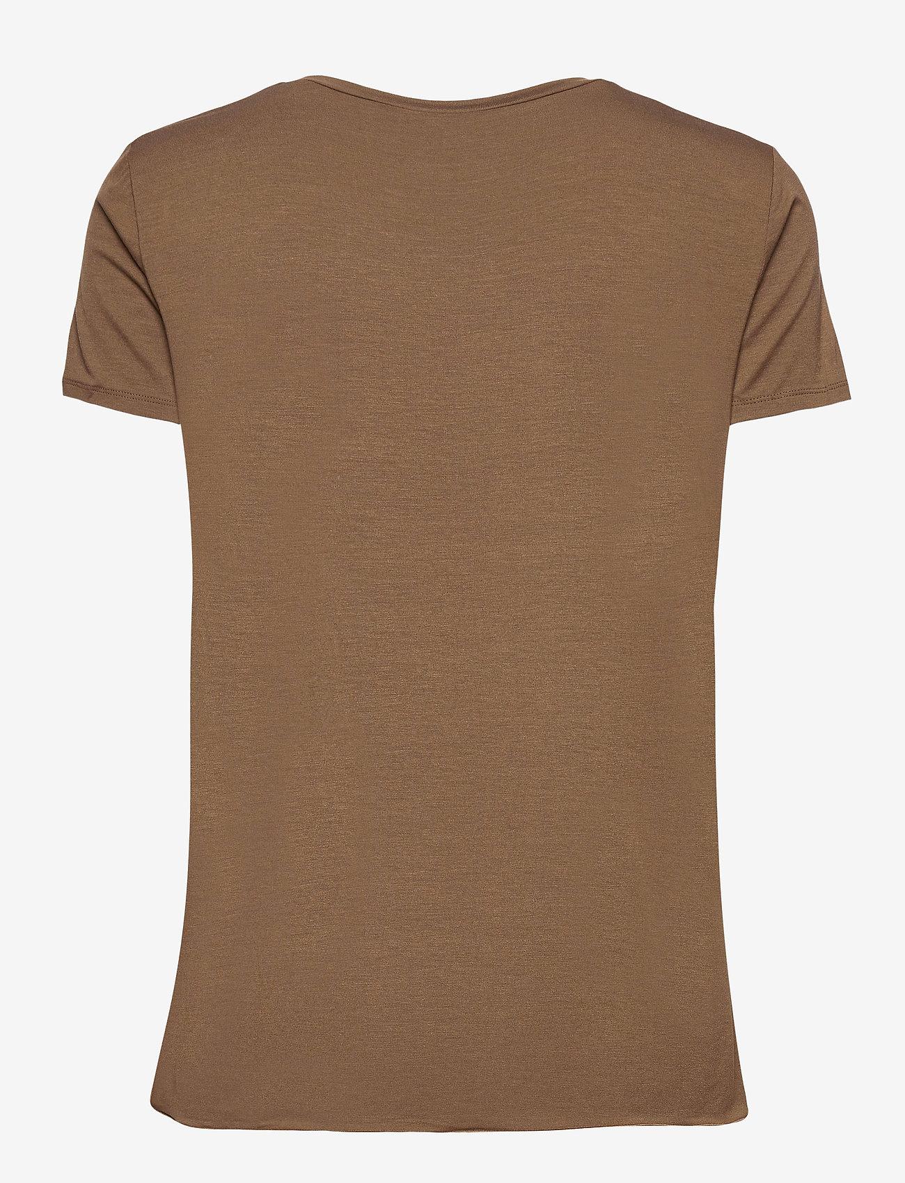 Max Mara Leisure - POSATO - t-shirts - golden green brown - 1