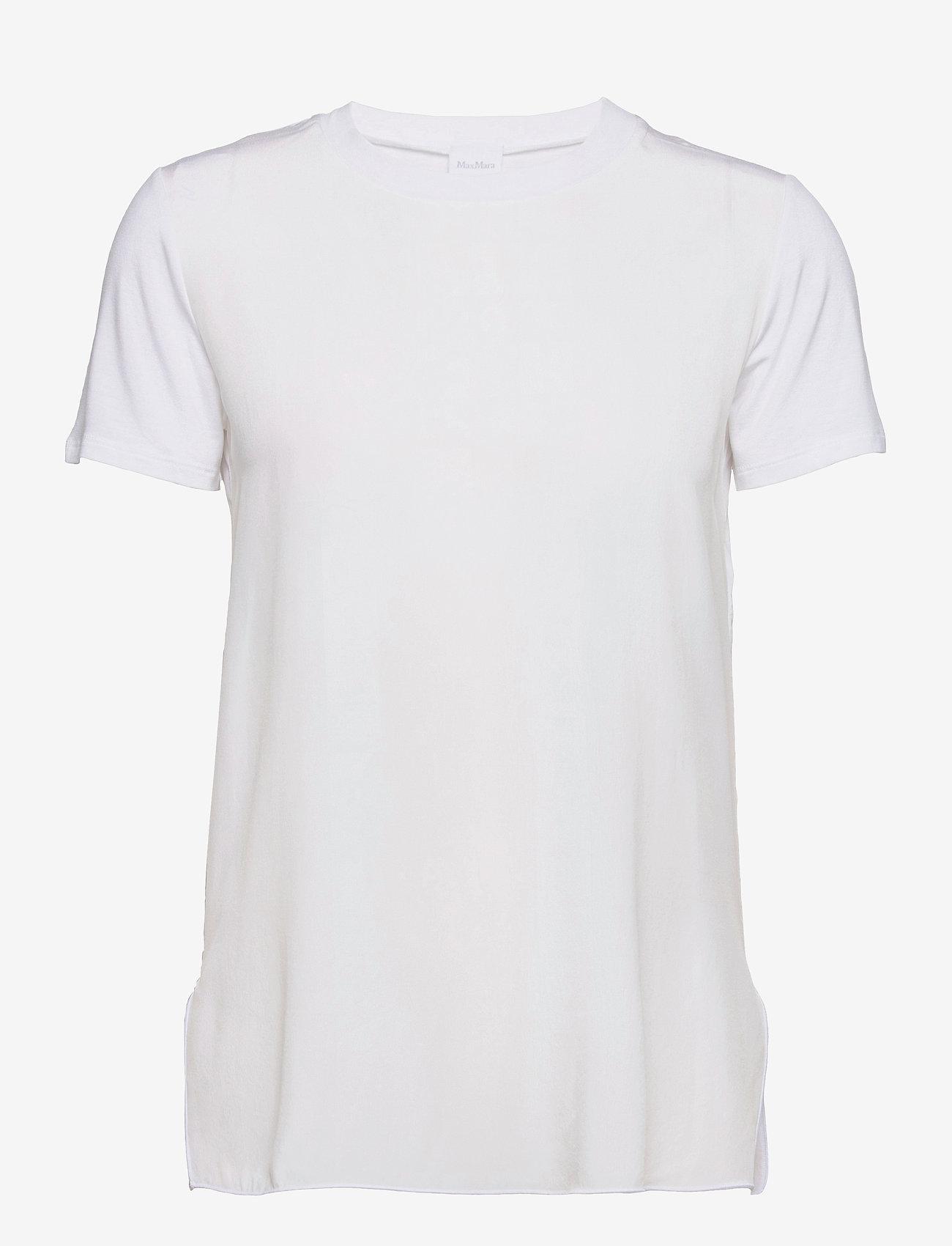 Max Mara Leisure - POSATO - t-shirts - optical white - 0