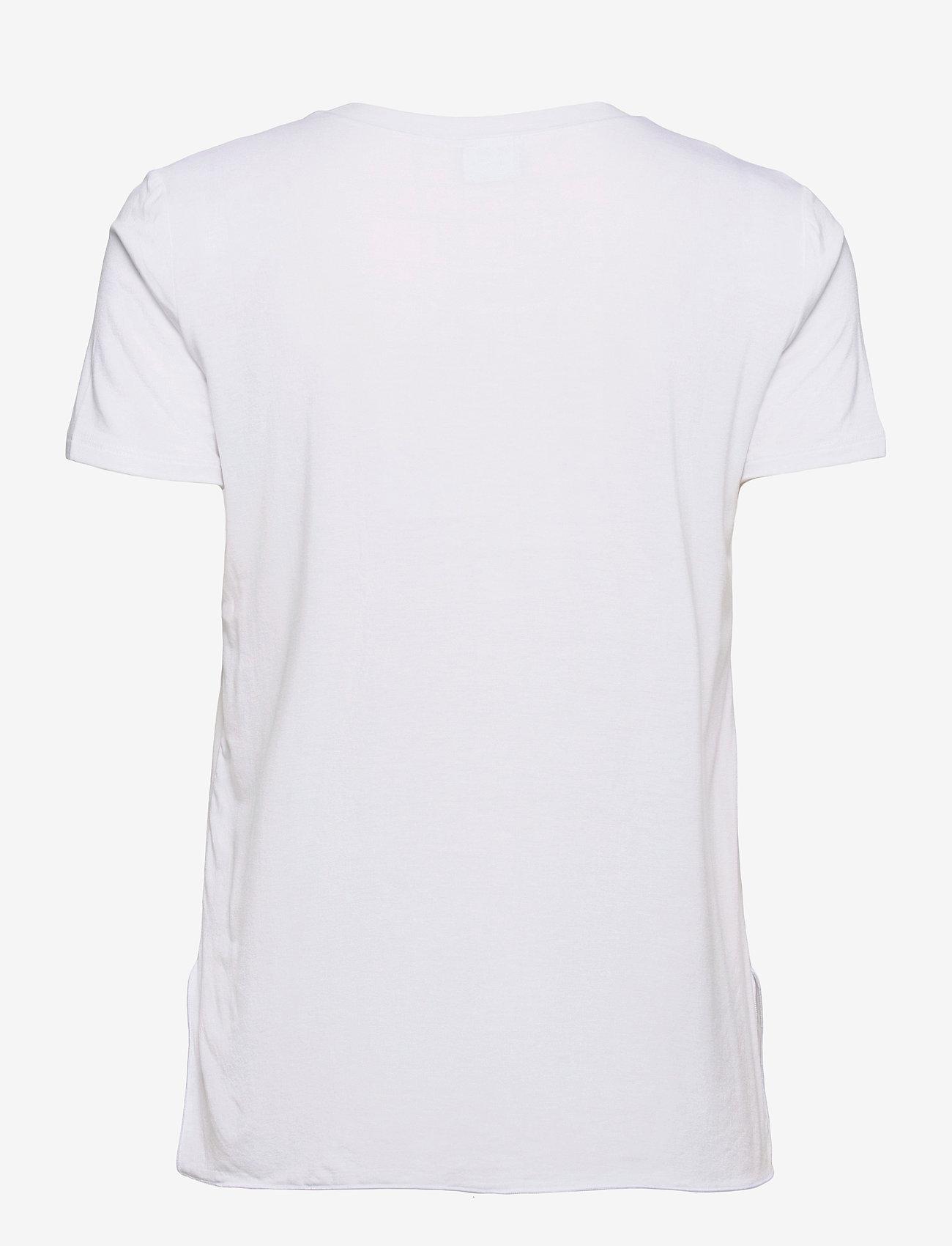 Max Mara Leisure - POSATO - t-shirts - optical white - 1
