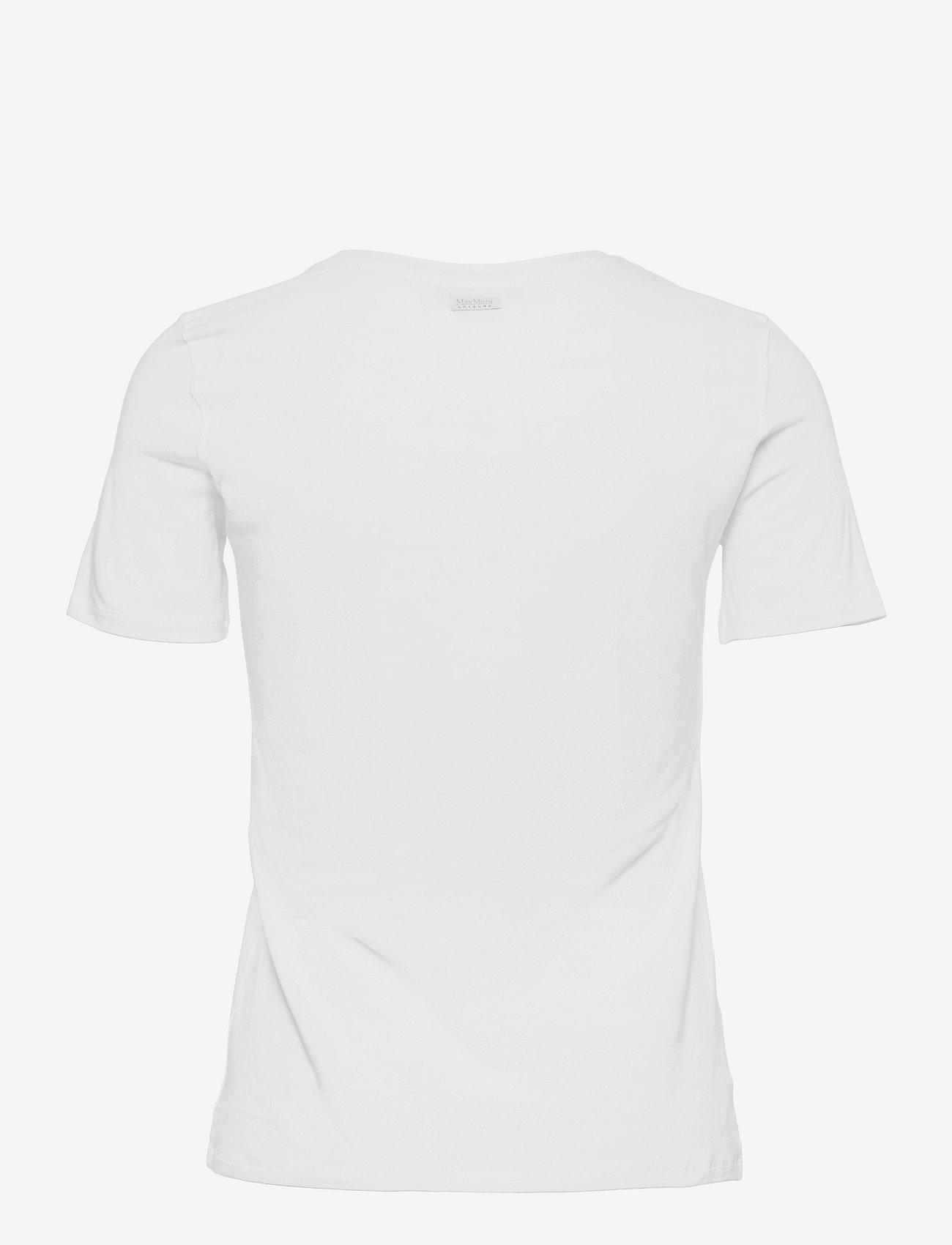 Max Mara Leisure - VAGARE - t-shirts - white - 1