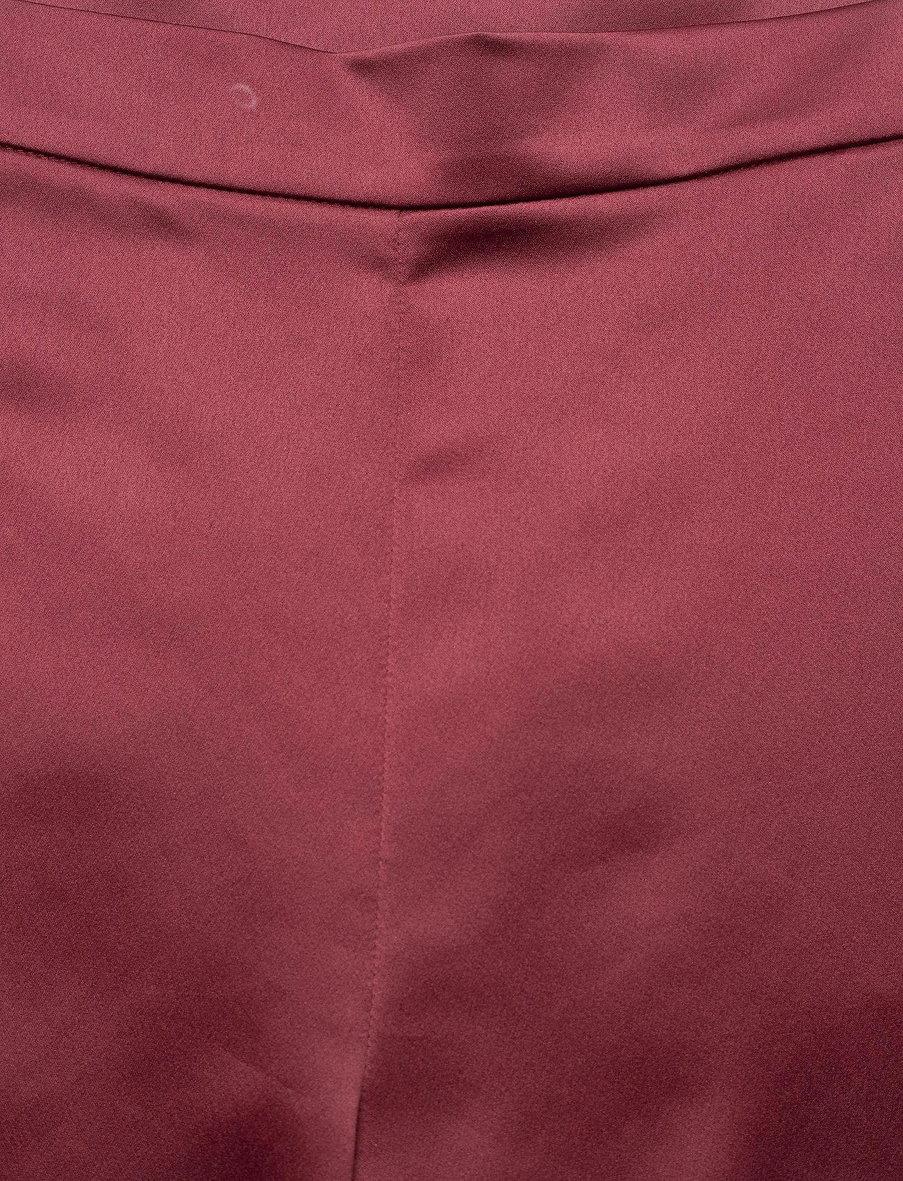 Max Mara Leisure - ENFASI - straight leg trousers - brick red - 3