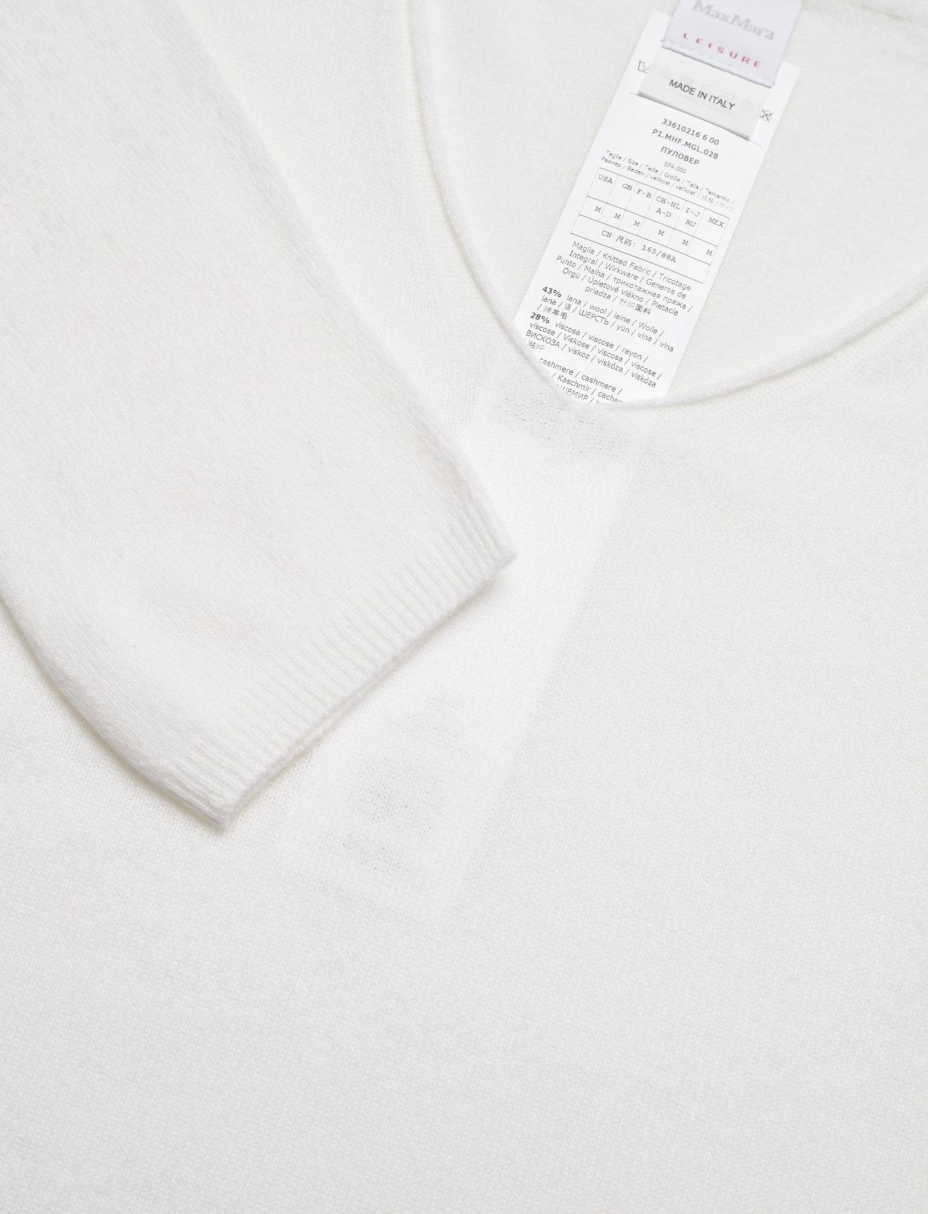 Max Mara Leisure - SMIRNE - sweaters - white - 2