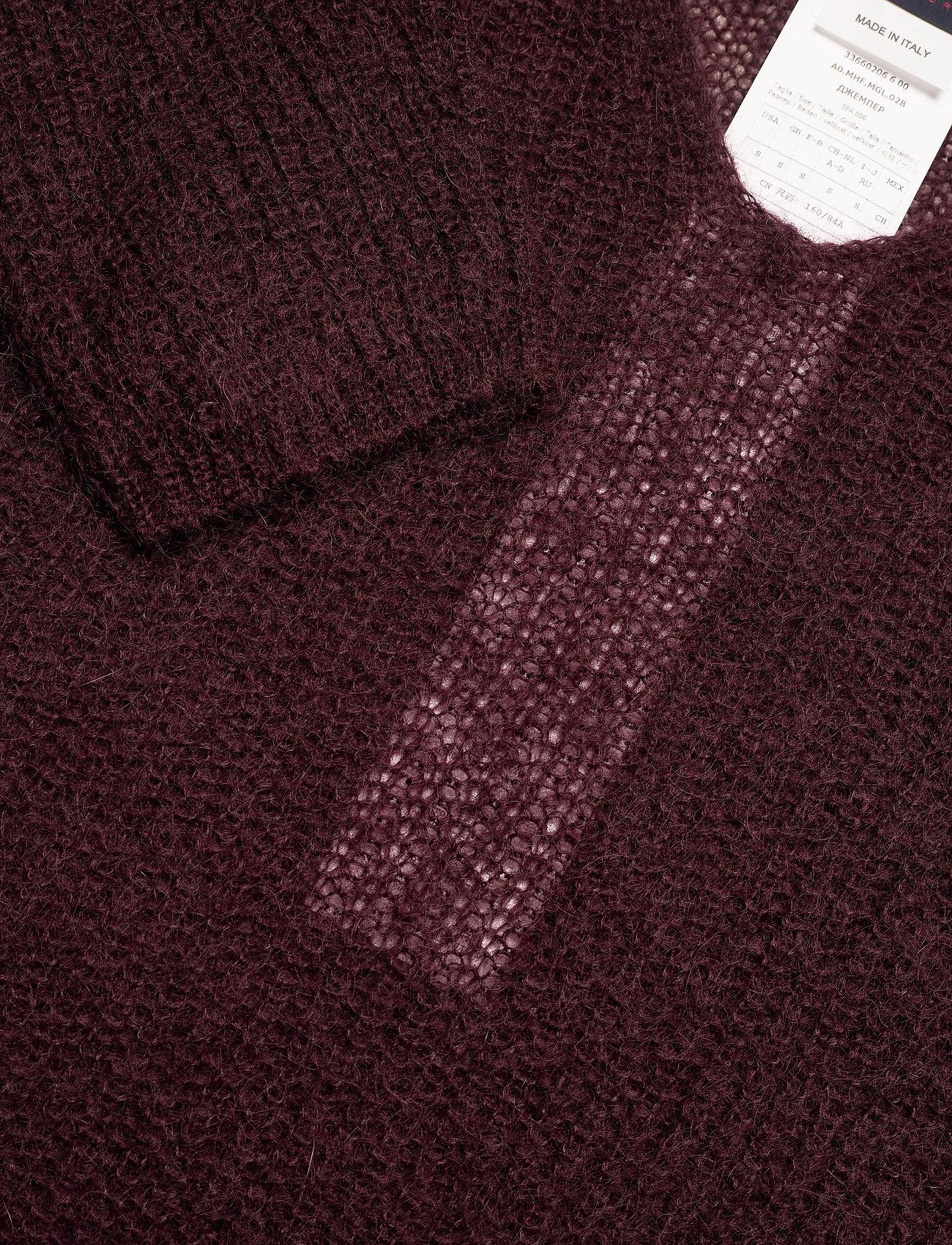 Max Mara Leisure - NORD - pullover - wine-coloured - 2