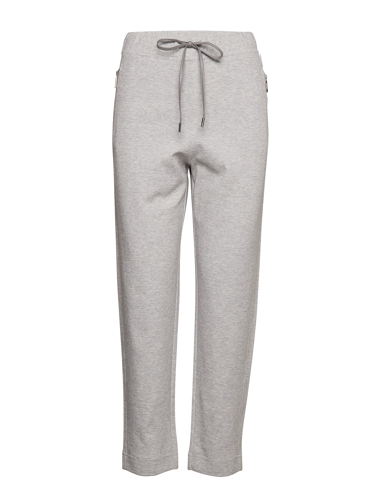 Max Mara Leisure VACILLO - LIGHT GREY MELANGE KNITTED TROUSER