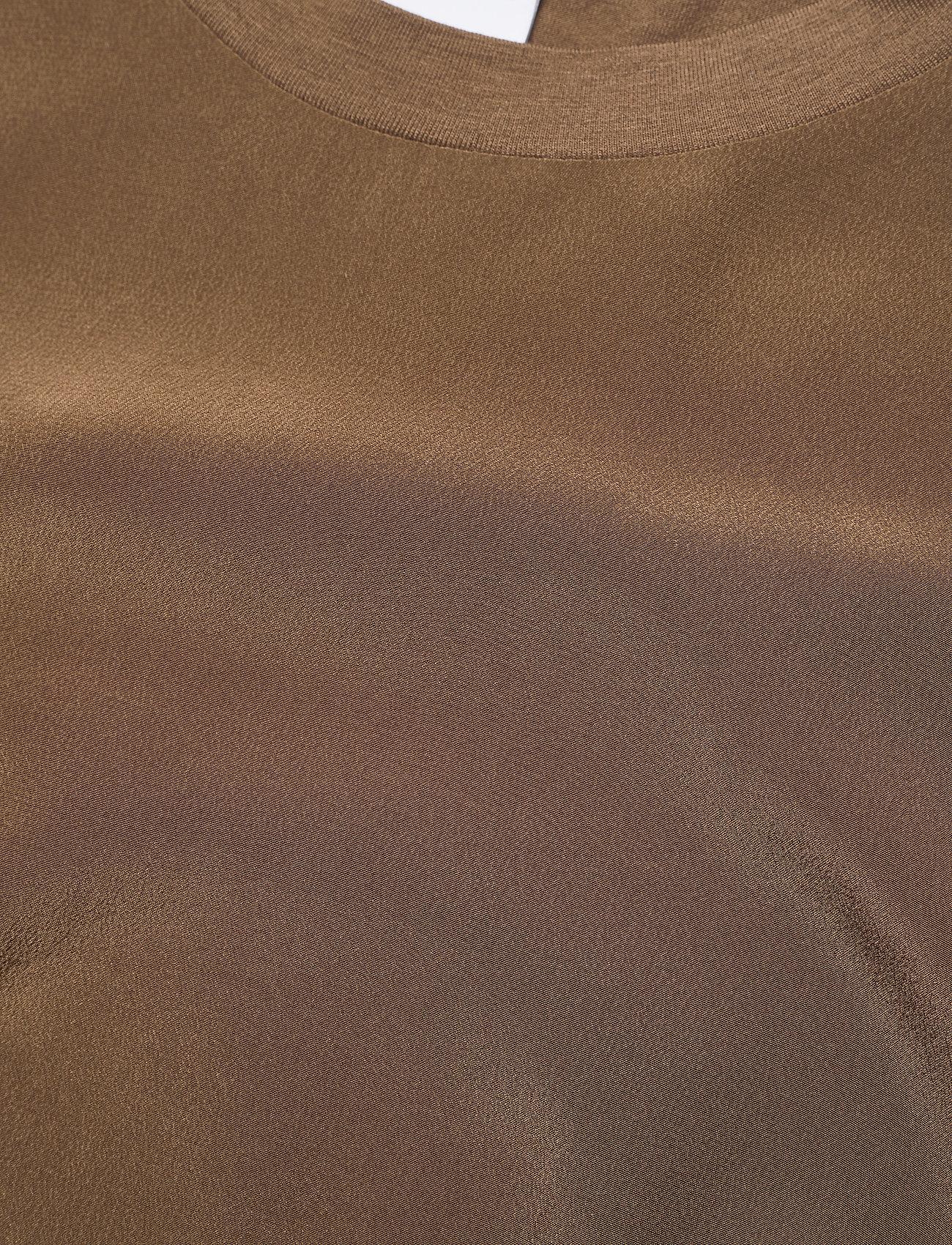 Max Mara Leisure - POSATO - t-shirts - golden green brown - 2