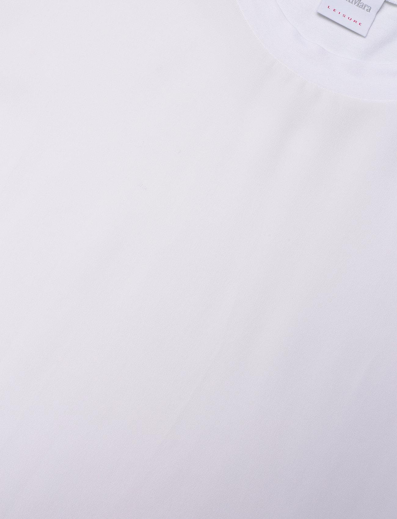 Max Mara Leisure - POSATO - t-shirts - optical white - 2