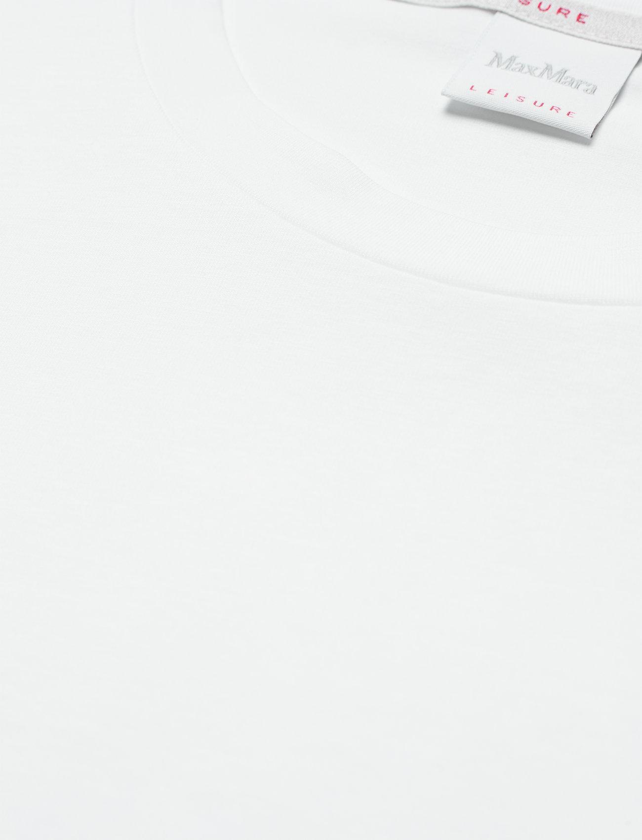 Max Mara Leisure - VAGARE - t-shirts - optical white - 2