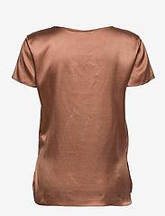 Max Mara Leisure - CORTONA - short-sleeved blouses - tobacco - 1