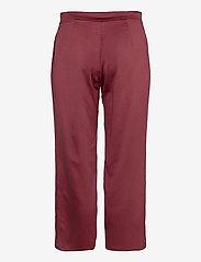 Max Mara Leisure - ENFASI - straight leg trousers - brick red - 1