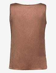 Max Mara Leisure - PAN - sleeveless blouses - tobacco - 1