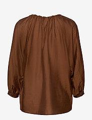 Max Mara Leisure - FAREA - long sleeved blouses - brown - 1