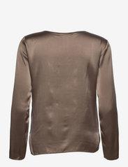 Max Mara Leisure - MOLDAVA - long sleeved blouses - turtledove - 1