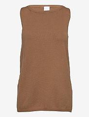 Max Mara Leisure - NASTIE - knitted vests - beige - 0