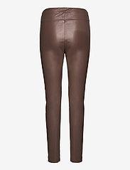 Max Mara Leisure - RANGHI - leather trousers - turtledove - 1