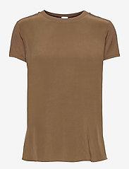 Max Mara Leisure - POSATO - t-shirts - golden green brown - 0