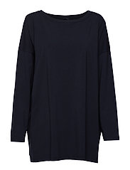JACOPO - NAVY KNITTED BLOUSE