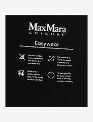Max Mara Leisure - RIVOLO - long sleeved blouses - black - 2