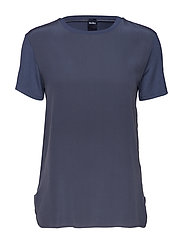 Max Mara Leisure JAJCE - BLUE GREY KNITTED BLOUSE