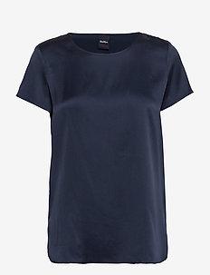 CORTONA - kurzämlige blusen - navy shirt