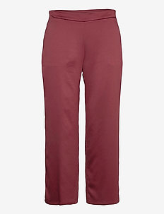 ENFASI - straight leg trousers - brick red