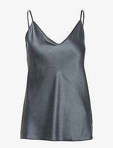 LUCCA - sleeveless blouses - dark grey
