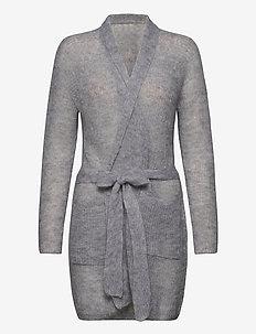 LIUTO - cardigans - pearl grey