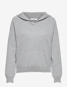 GARY - sweaters - medium grey