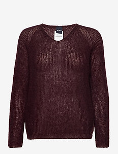 NORD - pullover - wine-coloured