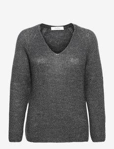 GATTONI - sweaters - medium grey