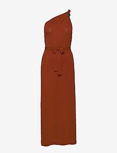 ADAM - maxi dresses - orange
