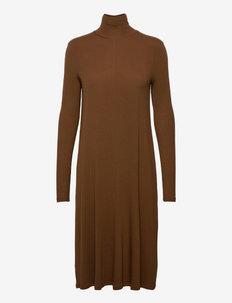 CALLAS - midi dresses - copper