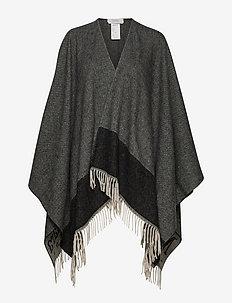 BERMA - ponchos & capes - black