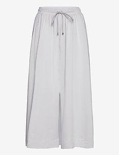 RADAR - midi kjolar - light grey