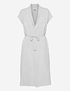 EDEN - midi dresses - light grey