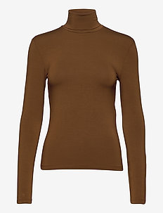 FRESIS - knitted tops & t-shirts - hazelnut brown