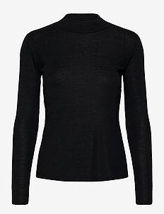 ZAC - blouses med lange mouwen - navy