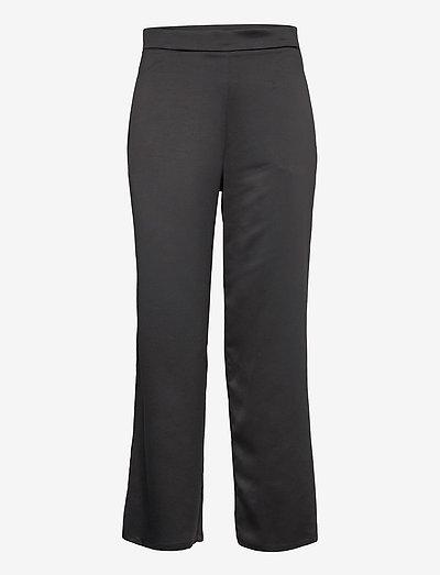 ENFASI - straight leg trousers - black