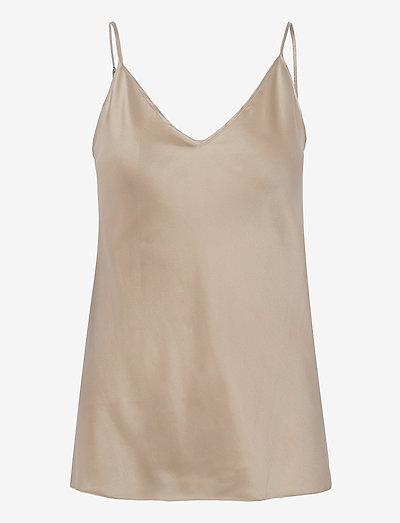 LUCCA - sleeveless blouses - ecru