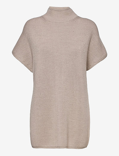 OBLATO - knitted dresses - beige