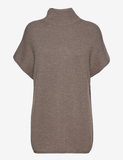 OBLATO - knitted dresses - turtledove