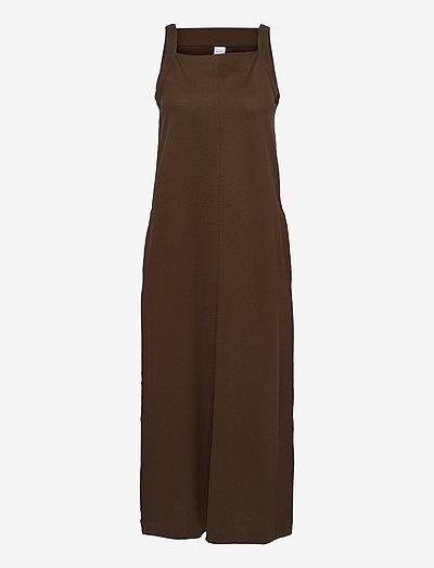AMINTA - maxi dresses - golden green brown