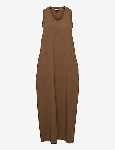 BAGAGLI - maxi dresses - golden green brown